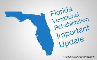 Florida VOC Rehab IMPORTANT Update