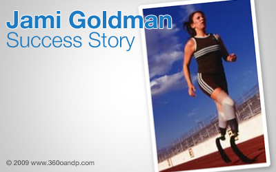 Success Story: Jami Goldman | Orthotic & Prosthetic Product