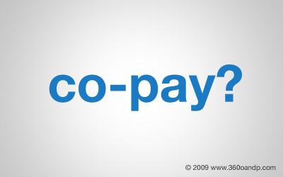 What is a co-pay?