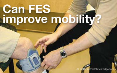 Can functional electronic stimulation improve mobility?