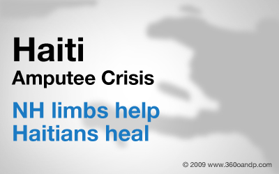 NH limbs help Haitians heal